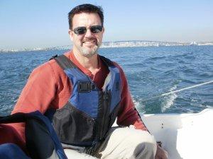 Me Sailing in San Diego