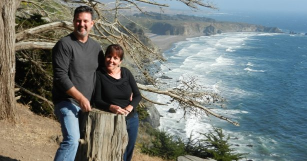 Leaving the relaxing part of the Pacific Coast Highway behind on the way to Big Sur