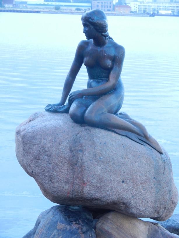 Little Mermaid Sculpture Copenhagen